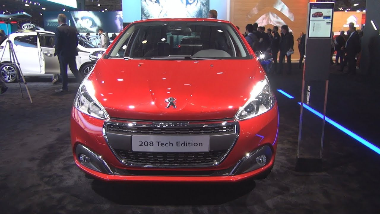 Peugeot 208 Tech Edition PureTech 110 S&S BVM6 5-doors (2019) Exterior and  Interior