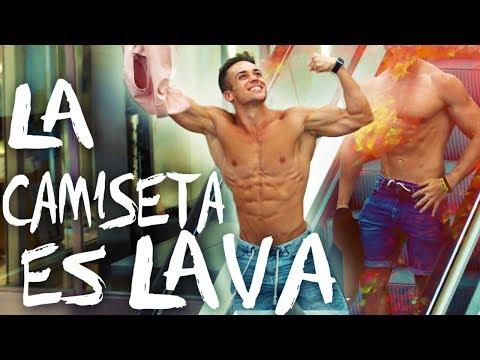 LA CAMISETA ES LAVA 🔥| The T-Shirt Is Lava Challenge