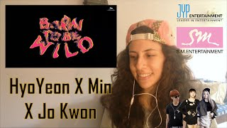 "[TRIPLE T] HYOYEON X MIN X JO KWON ""BORN TO BE WILD"" REACCIÓN"