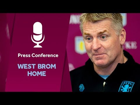 Press conference: West Bromwich Albion home