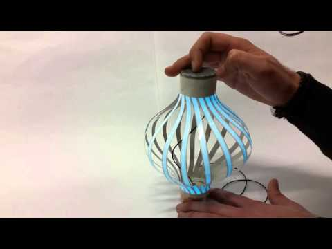 Interactive Electroluminescent (EL) device