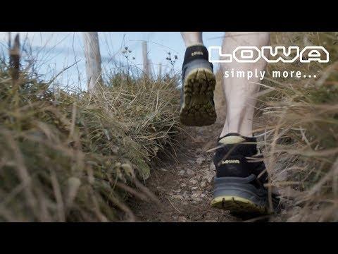 Ratgeber Video Wanderschuhe richtig einlaufen und Blasen