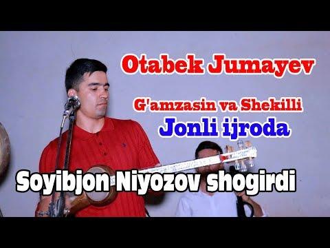 Soyibjon Niyozov Sevimli Shogirdi Otabek Jumayev -  G`amzasin Va  Shekilli Jonli Ijroda