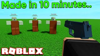 I Made A Roblox Game in 10 Minutes..