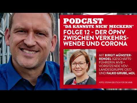 Podcast - Folge 12 - Der �PNV zwischen Verkehrswende und Corona (mit Birgit Münster-Rendel)