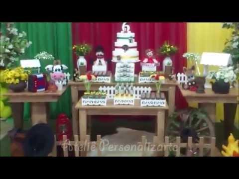 Decoração de festa infantil Gauchesca