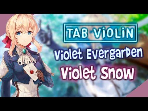 violet-evergarden-ost---violet-snow-en-violín-tutorials-and-tabs-/-how-to-play-violÍn