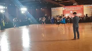 제7회 한중 친선교류국제댄스스포츠선수권대회  고등부 솔…