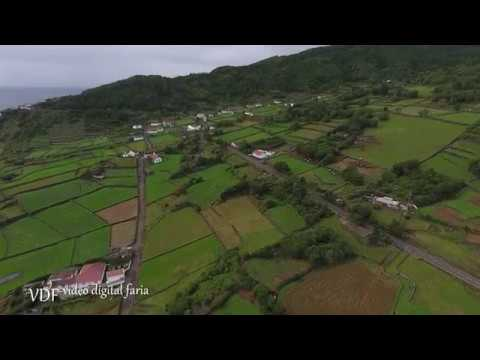 Santa Barbara Ilha do Pico Açores « Vista aérea »