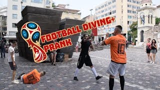 Football Diving Prank | Tsach