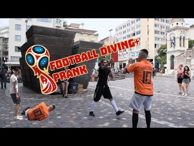 Football Diving Prank   Tsach