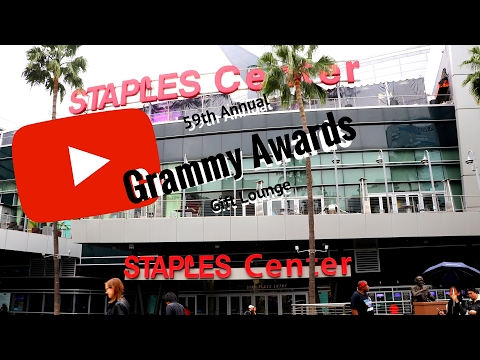 59th Annual Grammy Awards Gift Lounge