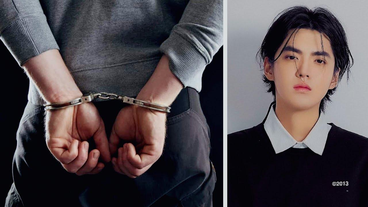 القبض على كريس وو بسبب الاعتداء على فتيات😱Kris Wu arrested #shorts