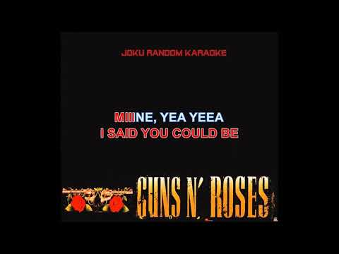 Guns N' Roses - You Could Be Mine [Karaoke]