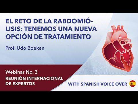 El reto de la rabdomiólisis: tenemos una nueva opción de tratamiento | Udo Boeken | Webinar 3