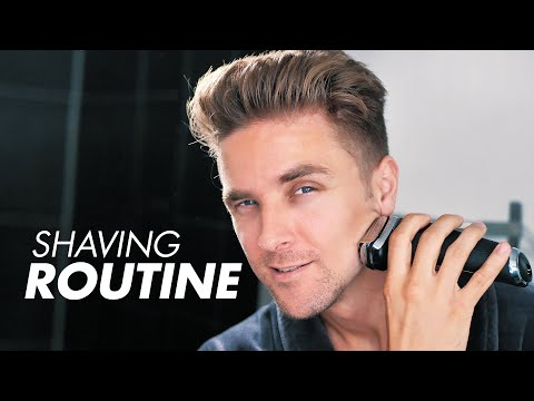 Men's Morning Routine - 5 Steps To Improve Your Shave With Braun Series 9