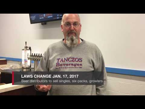 Pennsylvania beer distributor prepares for looser regulations Jan. 16, 2017