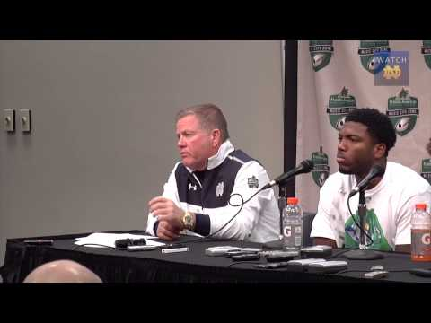FB - ND Music City Bowl Post Game Presser