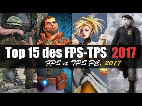 Top 15 des FPS-TPS-Jeux de tir sur PC 2017