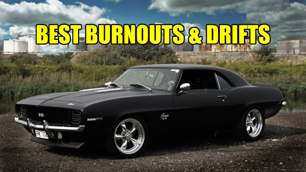 Best Muscle Car Burnouts And Drifting Compilation May 2017 Youtube