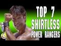 Top 7 Power Rangers Who Went SHIRTLESS - Ranger Database