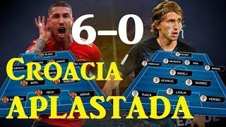 Análisis España VS Croacia (6-0)   Uefa Nations League   Opinión
