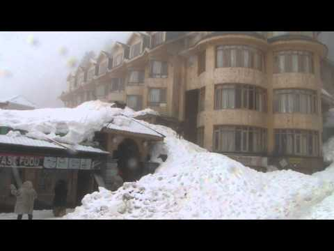 Kashmir paradise covered in white blanket, snow  Trip on 15th march 2012