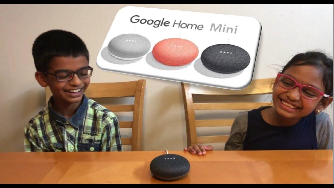 Google Home Mini Kids Fun