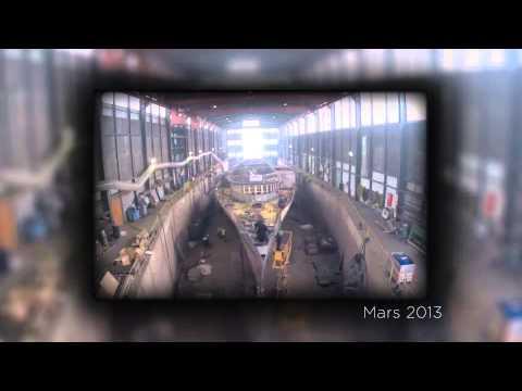 Belle Epoque Steamer Conservation Time-lapse
