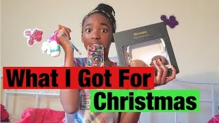 What I Got For Christmas 2015|| COLLAB
