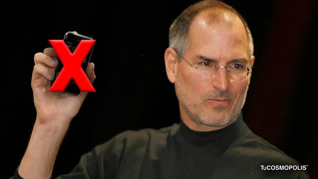 Por qué STEVE JOBS PROHIBÍA a sus HIJOS TENER un IPHONE?