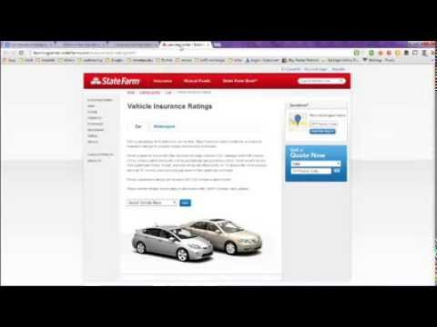 Auto Insurance Rating System and Information