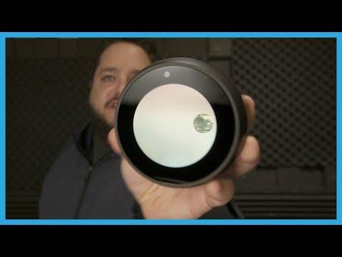Amazon Echo Spot Hands-on