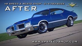 The V8 Speed & Resto Shop Can Restore Your Dream Car 314.783.8325 www.v8speedshop.com