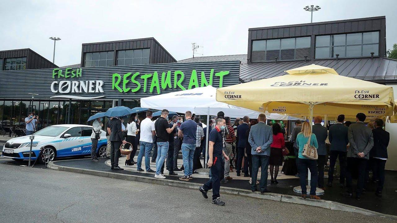Prvi Fresh Corner restoran - INA Vukova Gorica