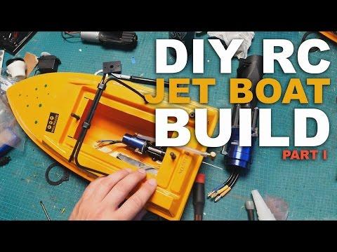 BRUSHLESS POWERHOUSE - DIY JET BOAT BUILD PART 1