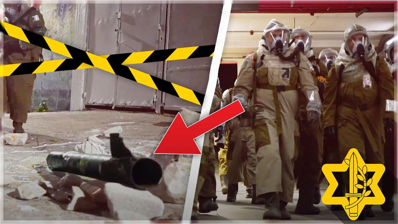 איך מטהרים פצצה כימית שנפלה באצטדיון כדורגל? | צה״ל