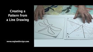 Creating a Pattern from an Line Drawing (England Design)