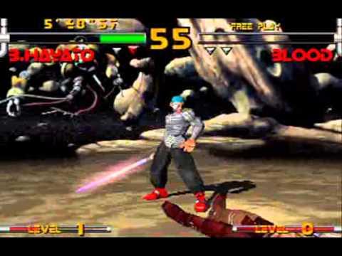 Star Gladiator 2: Black Hayato Playthrough Arcade Story Mode Nightmare of Bilstein Plasma Sword