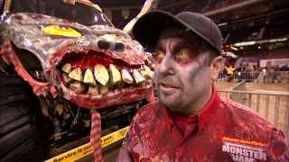 Monster Jam - Zombie Freestyle from New Orleans - Feb 23, 2013