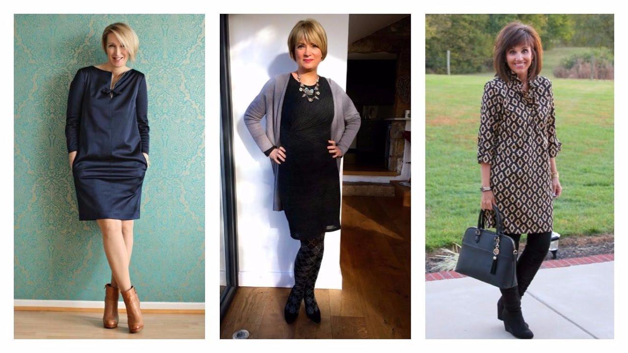 Vestidos Para Señoras De 40 Años 2017 Moda Mujer Vestidos Señoras Fashion