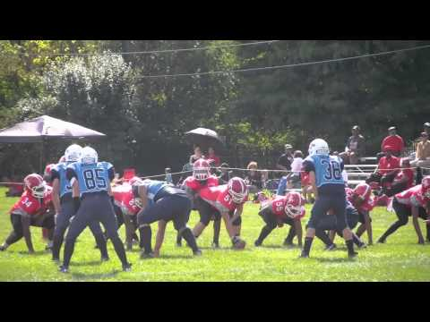 Des Plaines Jr Warriors All American vs Homewood 9/28/14 1st Half