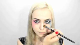 ♠ Harley Quinn Suicide Squad Makeup & Hair Tutorial ♣ Харли Квинн ♦ Отряд Самоубийц ♥ Margot Robbie