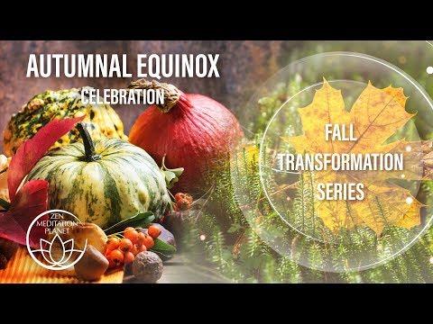 Autumnal Equinox Celebration - Mabon Spiritual Harvest, Fall Transformation Series