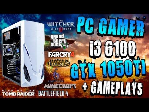 ARMANDO PC GAMER - GTX 1050ti - I3 6100 - ASUS H110M E - EVGA 450B + GAMEPLAYS [PRESUPUESTOS BAJOS]