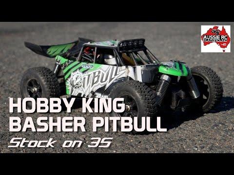 Hobby King PitBull First Running video on 3S