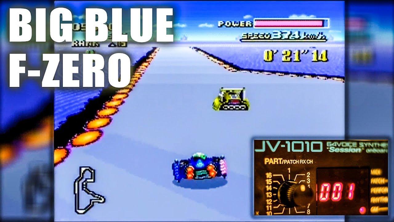Big Blue (F-Zero SNES) music remastered on pro  synthesizer