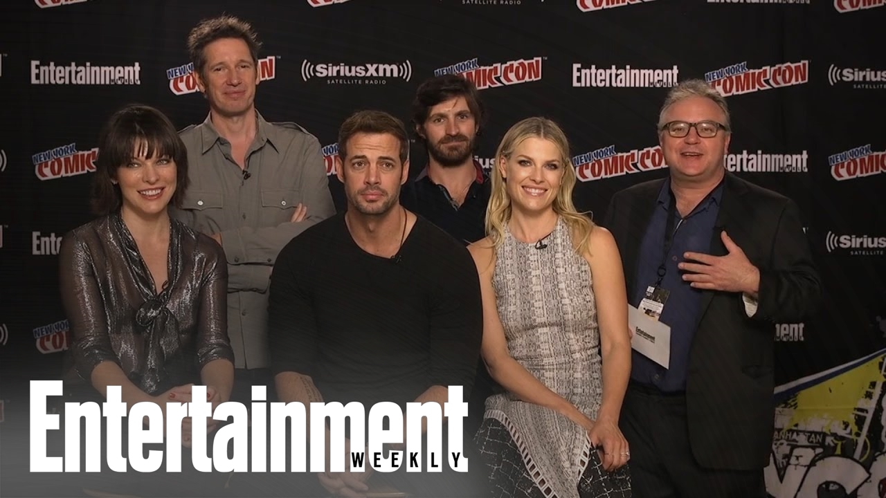 Resident Evil Cast Crew Members On Their Characters And The