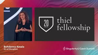 Bohdanna Kesala I Art of Disruption I SingularityU Czech Summit 2019 | Singularity University