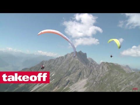 Biwakfliegen / Fly-Camping - Paragliding Zugspitze-Königssee (1/2)